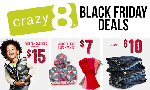 crazy8 black friday deals
