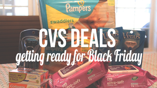 cvs deals youtube still pre black friday