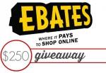 Ebates Black Friday Cash Back + $250 Giveaway