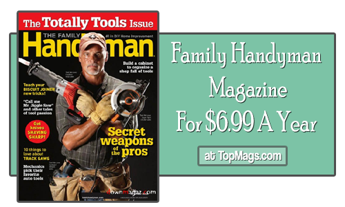 family handyman magazine subscription 699