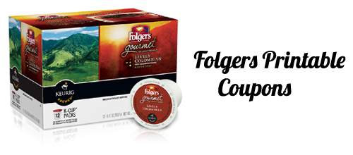 folgers coupon gourmet selections  k cups