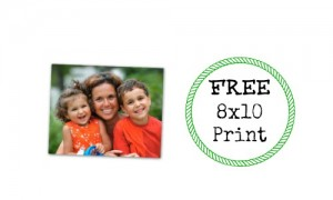 free 8x10 print