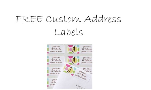 free custom address labels