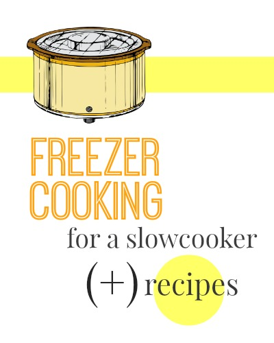 Make dinner super easy with these freezer cooking recipes you can make in your slow cooker!