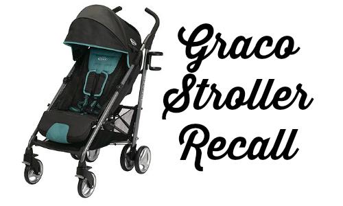 graco stroller recall