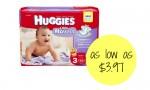 Huggies Diapers Deal | As Low As $3.97