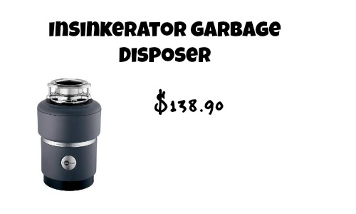 insinkerator garbage disposer