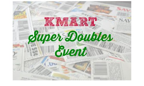kmart super doubles event