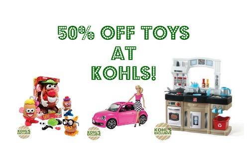 kohls deals toys
