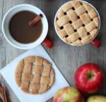 DIY Christmas:  Lattice Pie Crust Apple Cider Toppers