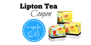 lipton coupon tea k cups