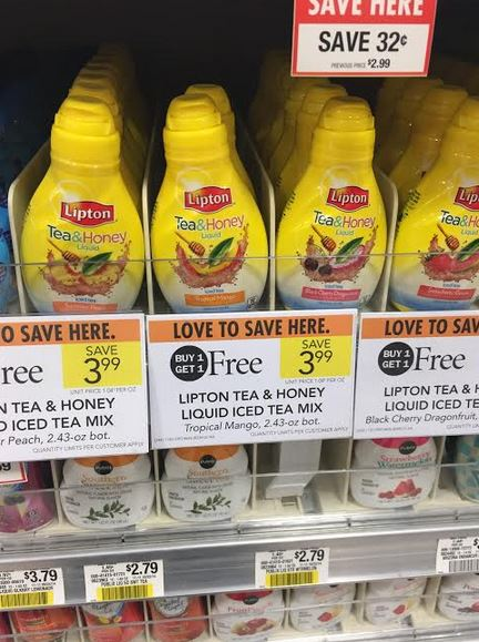 lipton tea deal