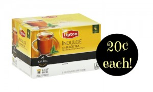 lipton tea k-cup deal