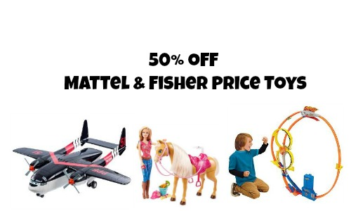 mattel and fisher price toys
