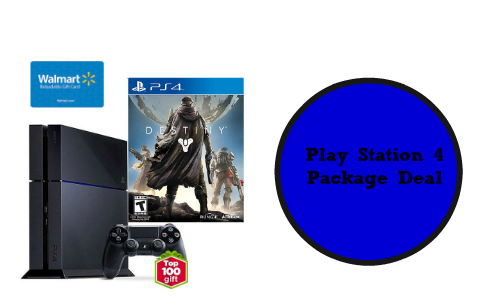 play station 4 package deal