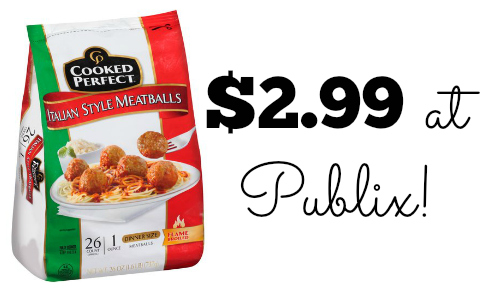 publix meatballs deal