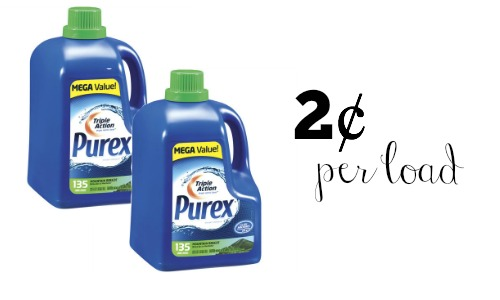 purex detergent coupon