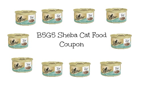 sheba cat food coupon