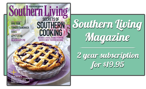southern living magazine subscription 2 years 1995