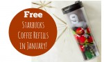 Starbucks Deal: FREE Refills When You Buy Tumbler!