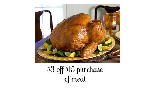 target coupon meat