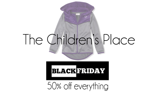 the childrens place black friday 50 off
