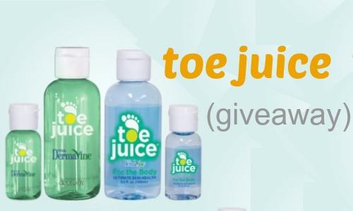 toe juice giveaway