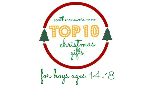 top 10 gifts boys 14 to 18