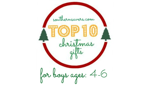 top 10 gifts boys 4 to 6