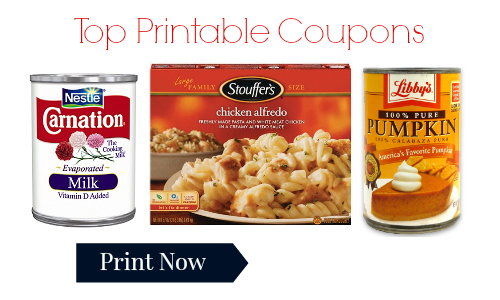 top printable coupons