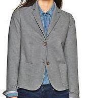 twill blazer