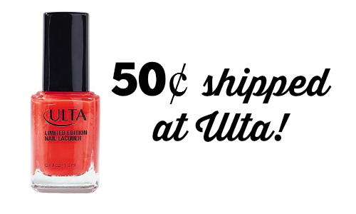 ulta nail color deal