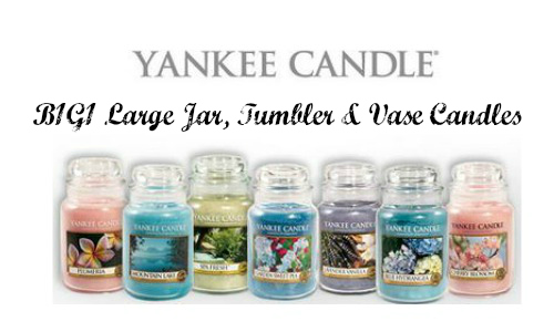 Yankee Candle $1 Sale + Coupon Code