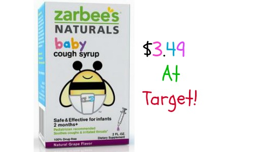 Zarbee S Naturals Coupon 3 49 At Target Southern Savers
