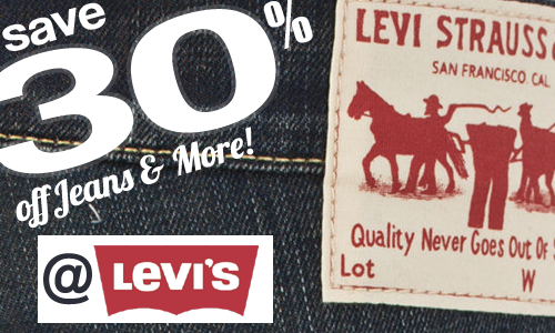 30 off levis