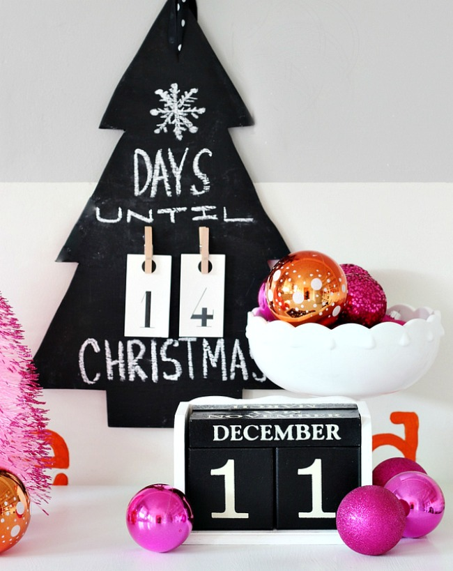 Chalkboard-Christmas-tree-diy