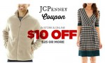 JCPenney Coupon Code: $10 off $25 Purchase!