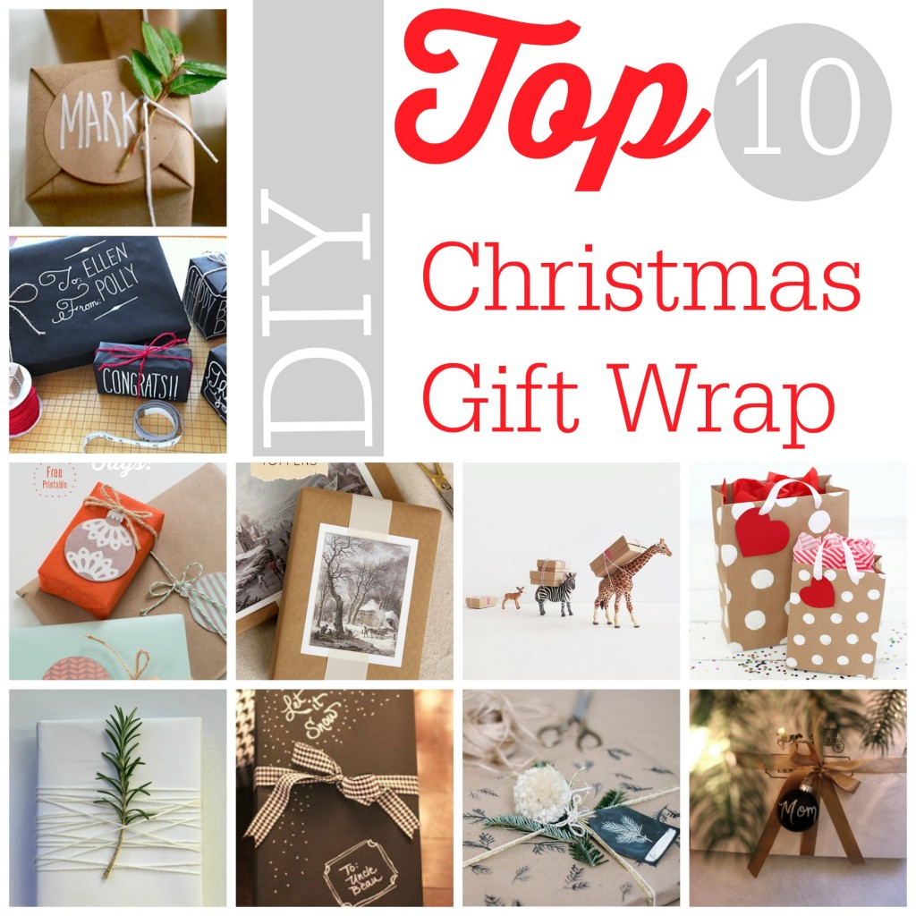 DIY Christmas Top 10 DIY Christmas Gift Wrap  Southern Savers