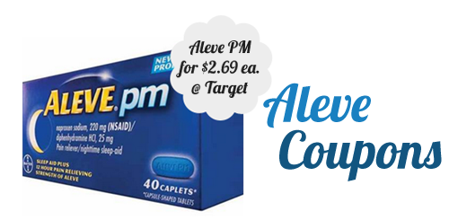 aleve coupons target deal