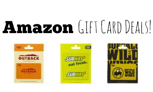 amazon gift card deals