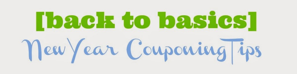 back to basics  new year couponing tips