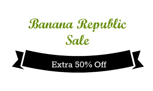 Banana Republic: Extra 50% Off Sale