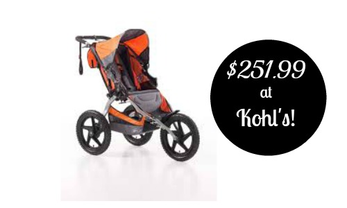 bob stroller deal at kohls