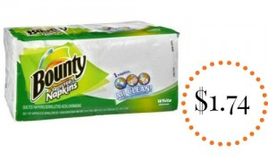 bounty napkins