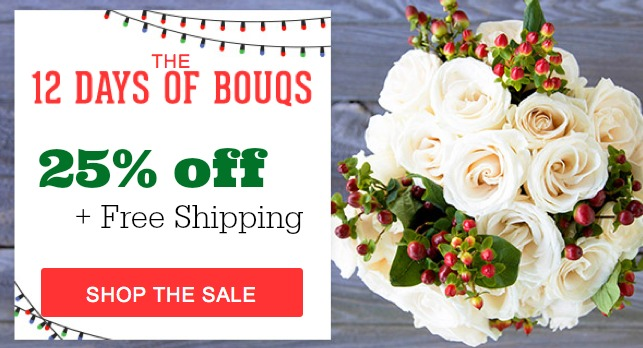 Bouqs coupon code