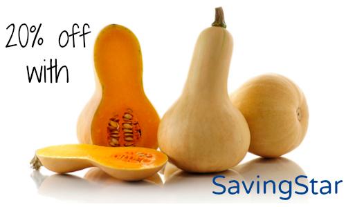 butternut squash savingstar