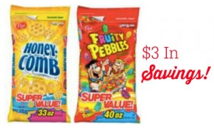 cereal savings