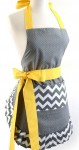 chevron bow apron