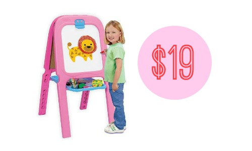 walmart deal crayola double easel 19 southern savers
