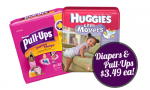 Huggies Coupons | Diapers AND Pull-Ups $3.49 Each at CVS